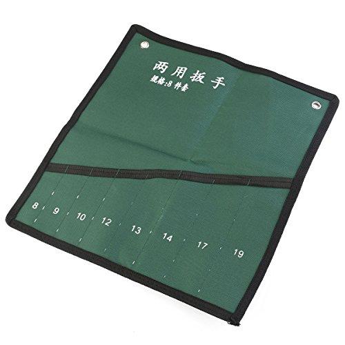 WINOMO Leinwand Roll-Up Tools Speicher 8-Pocket Spanner Schraubenschlüssel Organizer Tasche