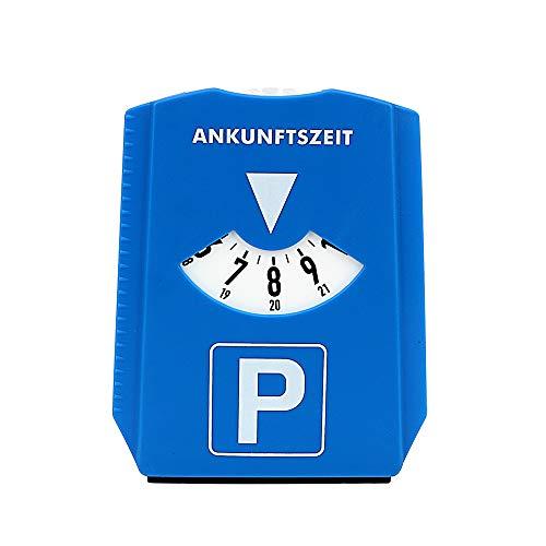 Disco de estacionamiento del automóvil Muestra de Tiempo Señal de rascador de Hielo Herramientas de Tiempo de estacionamiento
