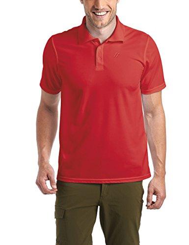 Maier Sports Herren Polo 1/2 Arm T-shirt, salsa, Gr. XL (Salsa-t-shirt)