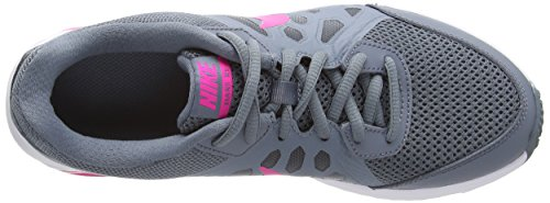 Nike Dart 11, Chaussures de Running Compétition femme Gris (Bl Grpht/Pnk Fl/Dv Gry/White)