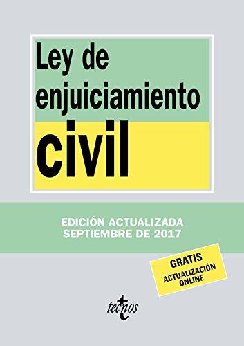 Ley de Enjuiciamiento Civil (Derecho - Biblioteca De Textos Legales) por Editorial Tecnos