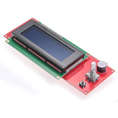 ACAMPTAR LCD 2004 Display Smart Controller RepRap Ramps V1.4 Fuer 3D Printer Drucker NEU (Reprap-controller)