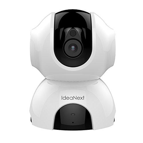 IdeaNext 960P HD Security Kamera Schwenk-Neige IP Kamera WLAN Home Security Überwachungskamera mit Bewegungserkennung, Stereo 2 Wege Audio zum Gegensprechen, Tag/ Nachtsicht, Pir-Sensor