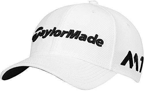 taylormade-golf-2017-tour-39thirty-mens-golf-cap-white-m-l