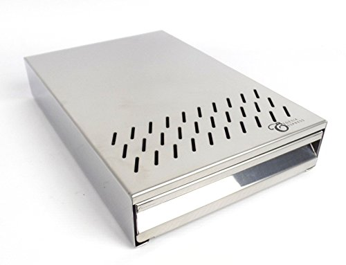 Sudschublade Abklopfbehälter Abschlagkasten Knockbox für Espressomaschinen Kaffeesatz - integriertem Griff - 200 x 300 x 55 mm -