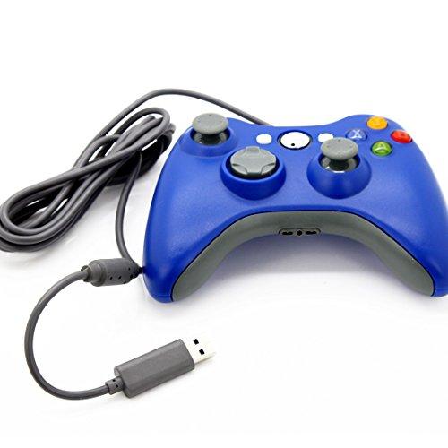 LUFA Games-Zubehör Wired Schlank Game Pad Joypad Steuerpult für Microsoft Xbox 360