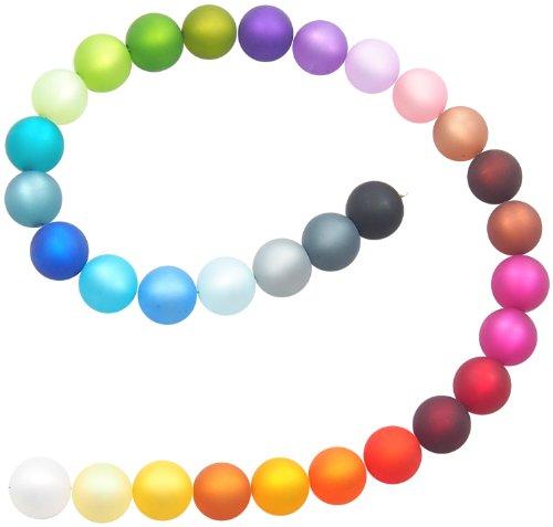 31 Perlen in 31 Farben echte original Polarisperlen 12 mm, Perlenmix, Mix zum Basteln besteht aus den Farben: weiß, creme, gelb, hellbraun, safran, hellorange, orange, bordeaux, rot, pink, himbeer, mokka, dunkelbraun, kakao, rosa, flieder, lila, aubergine, oliv, mittelgrün, neongrün, mint, petrol, taubenblau, dunkelblau, türkisblau, royalblau, hellblau, hellgrau, dunkelgrau und schwarz, Perlenmischung, Perlenset, Perlen aus deutscher Produktion - Würfel 12mm In Gelb