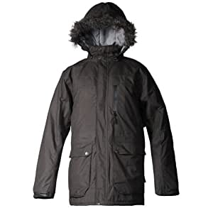 Cox Swain men 2-layer outdoor functional jacket RIDGE - 10.000 mm waterproof 5.000mm breathable, Colour: Dark Olive, Size: M