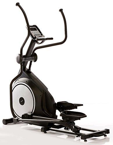MAXXUS Crosstrainer Ellipsentrainer CX 7.6i Bluetooth APP Steuerung iconsole+, flache, elliptische Laufbewegung, Schrittlänge 510mm, Ellipse 110mm, Benutzergewicht 150kg, Aufstellmaße 1800x620x1800mm