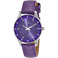Maxima Analog Purple Dial Women's Watch-41280LMLI