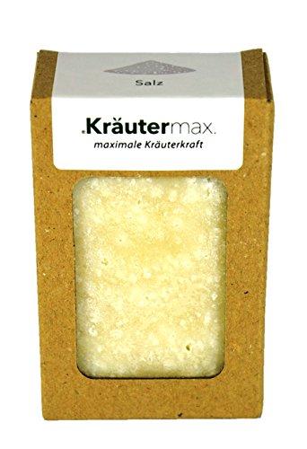 Salz Pflanzenölseife 100 g  handgemacht  kaltgerührt Haut wird glatt und geschmeidig  mit Kokosöl, Olivenöl, Meersalz  vermittelt samtiges Hautgefühl  in Kleinserien erzeugt  produziert in AT+DE  Premiumqualität  strengste Qualitätskontrollen