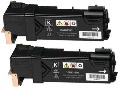 Preisvergleich Produktbild 2 Schwarz PREMIUM Toner kompatibel für Xerox Phaser 6500DN, 6500N, WorkCentre 6505DN, 6505N | 3.000 Seiten