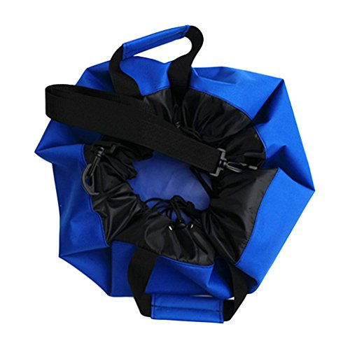 Homyl Strapazierfähige Wickelunterlage Wasserfester Tasche Trockenbeutel Aufbewahrungsbeutel Packtasche Trockenbeutel mit Griffe Schultergurte