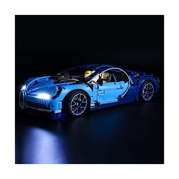 BRIKSMAX Kit di Illuminazione a LED per Lego Technic Bugatti Chiron,Compatibile con Il Modello Lego 42083 Mattoncini da… 3 spesavip
