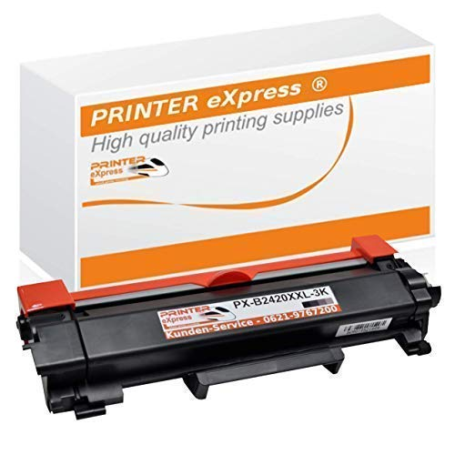 Printer-eXpress Toner ersetzt Brother TN-2420 TN-2410 I 3.000 Seiten I für DCP-L2510 DCP-L2530 DCP-L2537 DCP-L2550 HL-L2310 HL-L2350 HL-L2357 HL-L2370 HL-L2375 MFC-L2710 MFC-L2710 MFC-L2730 MFC-L2735 - Kompatibel Toner Neu-trommel
