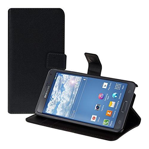 kwmobile Samsung Galaxy Note 4 Hülle - Kunstleder Wallet Case für Samsung Galaxy Note 4 mit Kartenfächern und Stand