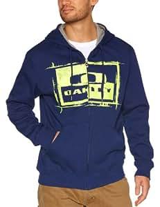 Oakley Fang Tooth Sweatshirt Zip Herren X-Large Blau - Blue Depths