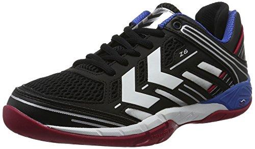 Hummel Unisex-Erwachsene Omnicourt Z6 Trophy Hallenschuhe, Schwarz (Black), 48 EU Warehouse Deals Schuhe Frauen