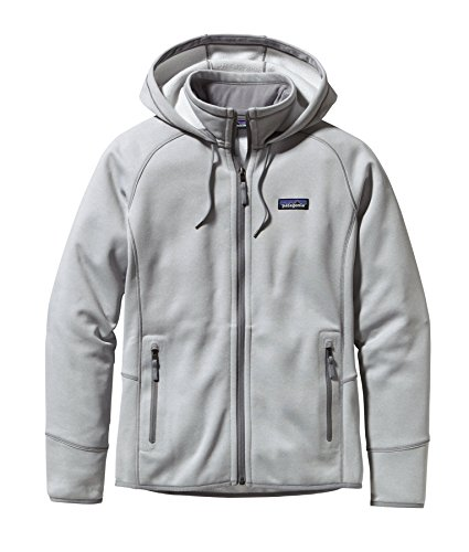 W's Tech Fleece Hoody Birch White Small (Patagonia White Shirt)