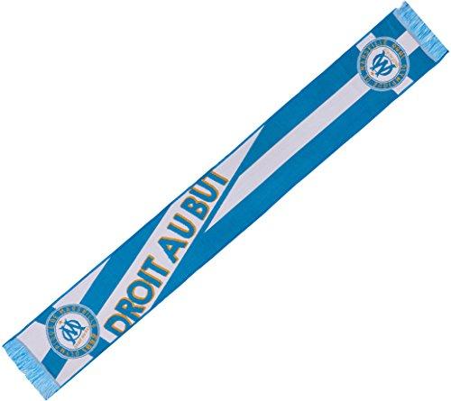 Écharpe Olympique Marseille DROIT AU BUT l'OM- 130 cm + Digni®-Sticker gratuit