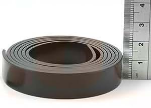 bande magn tique autocollante super qualit type b anisotrope 1 5mm x 12 7mm x 5m. Black Bedroom Furniture Sets. Home Design Ideas