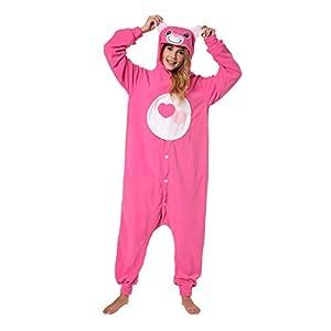 Katara-Kigurumi Pijamas (4+ Modelos) Disfraz Animal Oso Amoroso Halloween, Adultos Talla 175-185cm, color amorosita rosa, (1744)