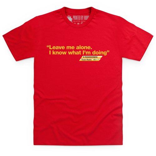 Kimi Raikkonen 3 T-Shirt, Herren, Rot, L -