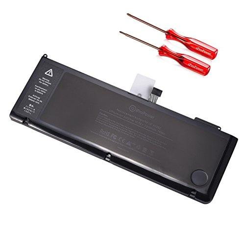 iProPower Batería de Repuesto para Apple Macbook Pro 15' A1382 A1286 (Early 2011 Late 2011 Mid 2012 Solamente) Batería de Respaldo Compatible para Macbook Pro A1382 i7 [Li-Polymer 10.95V 7200mAh]