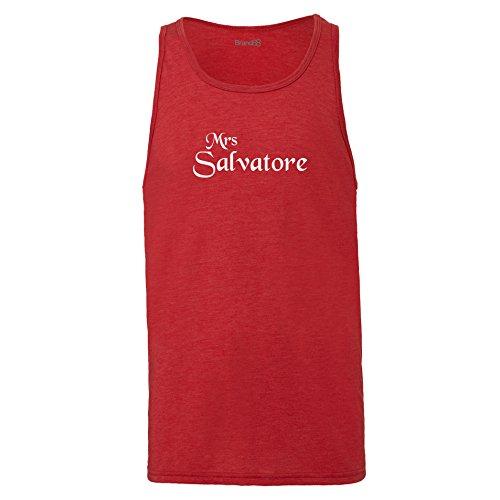 Brand88 - Mrs Salvatore, Unisex Jersey Weste Rot Meliert