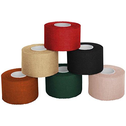 6 x Sport tape 3,8 cm x 10 cm, Colore:misto