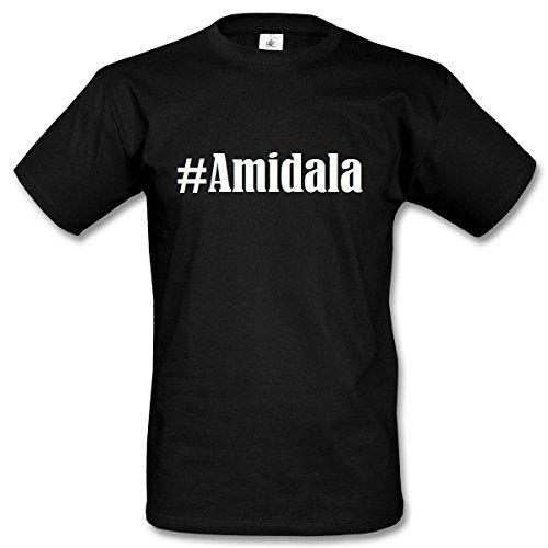 T-Shirt #Amidala Hashtag Raute für Damen Herren und Kinder ... in den Farben Schwarz und Weiss Schwarz