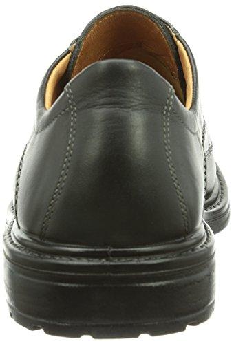 Jomos City Sport, Chaussures de ville homme Noir (Schwarz)