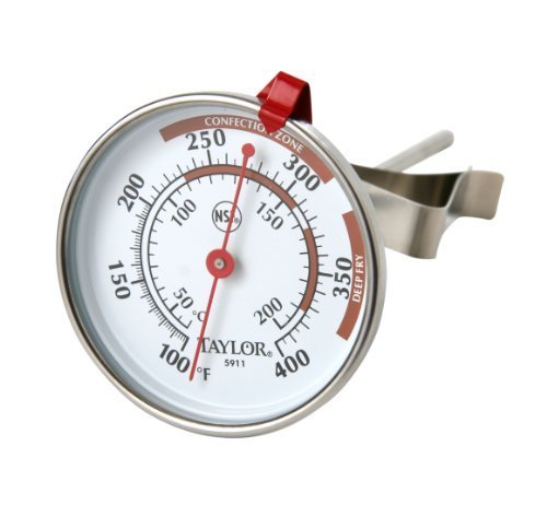 Taylor Candy Thermometer (Taylor Candy Deep Fry Jelly Thermometer by Taylor Precision Products)