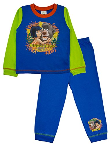 Disney Jungle Book Pyjamas PJS Full Length Pyjama Set Kids Size 18 Months To 5 Years