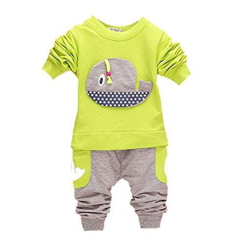 ROPALIA-Bambini-e-ragazzi-Manica-lunga-Completo-Camicia-PantaloniClothing-Outfits
