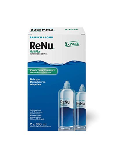 ReNu MultiPlus Pflegemittel für weiche Kontaktlinsen, Twin Box (2 x 360 ml) - 3
