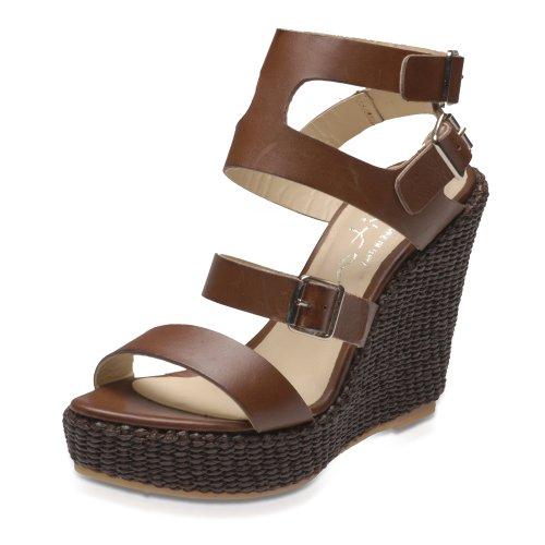 Evita Shoes elegant 4116102110 Damen Sandalen/Fashion-Sandalen Braun (Braun)