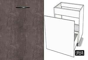 Kuchenschrank unterschrank abfallschrank fe breite 60cm for Abfallschrank küche