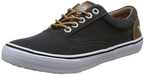MUSTANG Damen Canvas Sneaker Schwarz, Schuhgröße:EUR 40