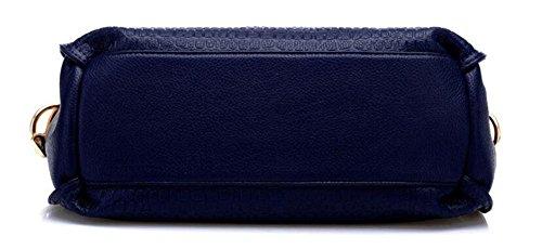 CHAOYANG-borse diagonali signora borsa a tracolla portatile del messaggero della borsa della borsa autunno e in inverno , treasure blue deep blue