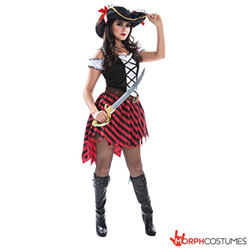 stüm (Womens Pirate Wench Kostüm)