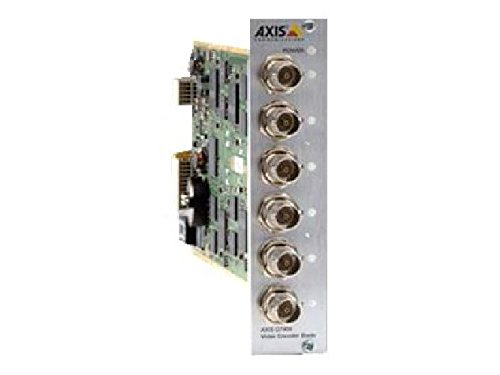 AXIS Q7406 Video Encoder Blade - Video-Server - 6 Kanäle AXIS Q7406 + 6 channel video encoder blade. Multiple, individually configurable H.264 and Motion JPEG streams, max. D1 resolution at 30/25 fps per cha -