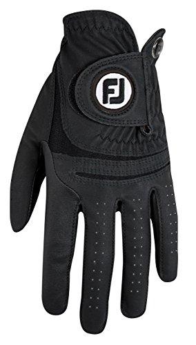 Footjoy WEATHERSOF Golfhandschuh Damen-Schwarz-M-Linkshand (Schwarz Golfhandschuh)