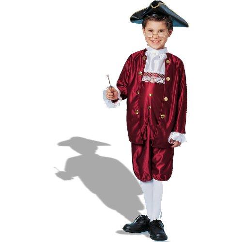 6-M Ben Franklin Kinderkost-m Gr--e L (Ben Franklin Kostüm Kind)