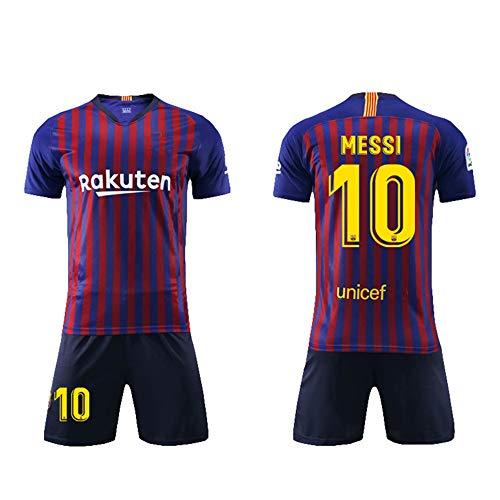 ... Producto Bajo Licencia. Daoseng Camiseta Jersey Futbol Barcelona 2018- 2019 Traje de Hombres Adultos Uniforme de Futbol Manga 65401cfd2f335