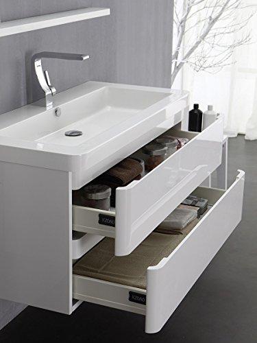 KZOAO Berlin Waschtisch-Set 65 cm weiß