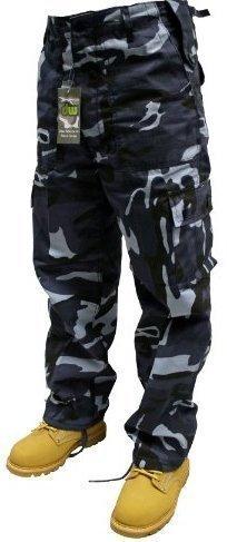 Urban Couture Clothing -  Pantaloni sportivi  - Uomo Tarnmuster Midnight