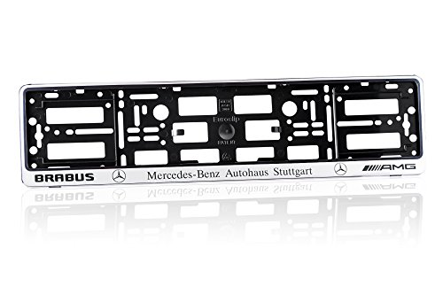 mercedes-amg-brabus-number-plate-holder-matte-silver-finish-car-registration-surround-front-or-rear-
