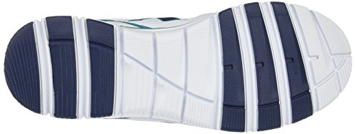 Kelme Damen Seatle Flat 4.0 Low-Top, Blau Weiß (White)