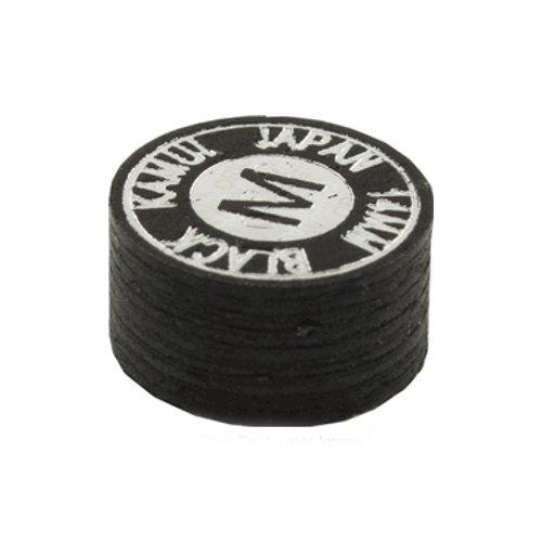 Kamui Snookerqueue-Spitze, 11 mm, Schwarz, Medium-Hard